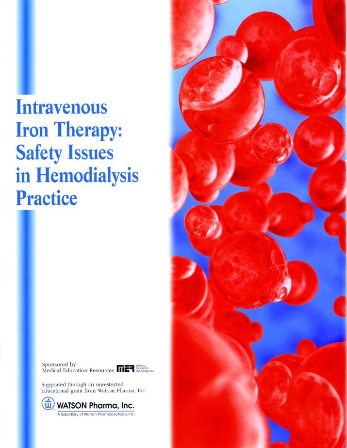 Inravenous Iron Therapy